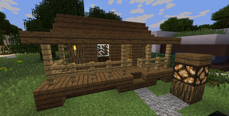 Small Wooden Cabin 6 Blueprints For Minecraft Houses Castles Towers And More Grabcraft