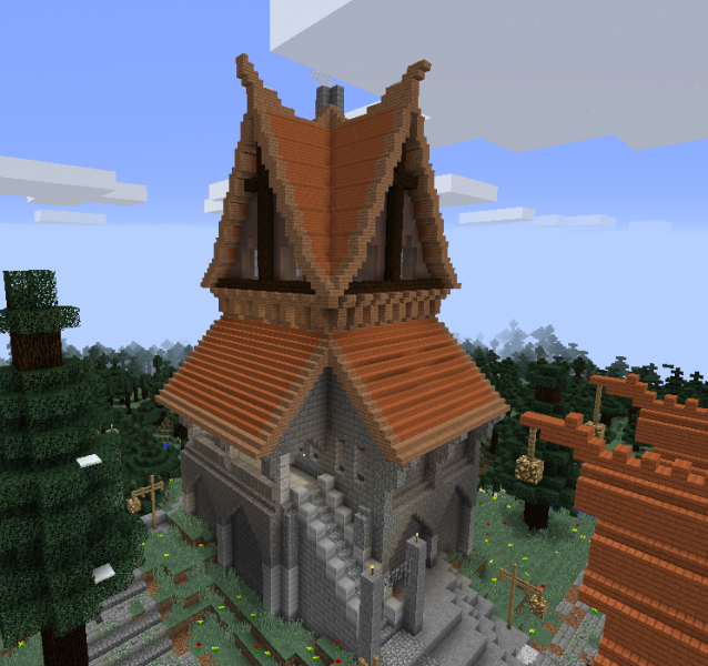 Solitude Inspired House Blueprints For Minecraft Houses Castles Towers And More Grabcraft