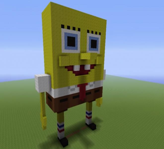 Spongebob Statue