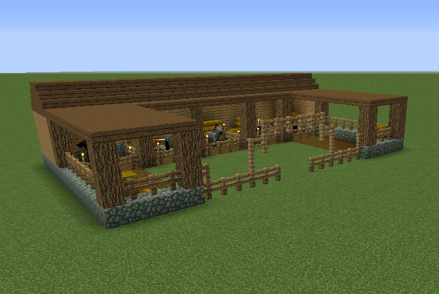 Stable Blueprints For Minecraft Houses Castles Towers And More Grabcraft