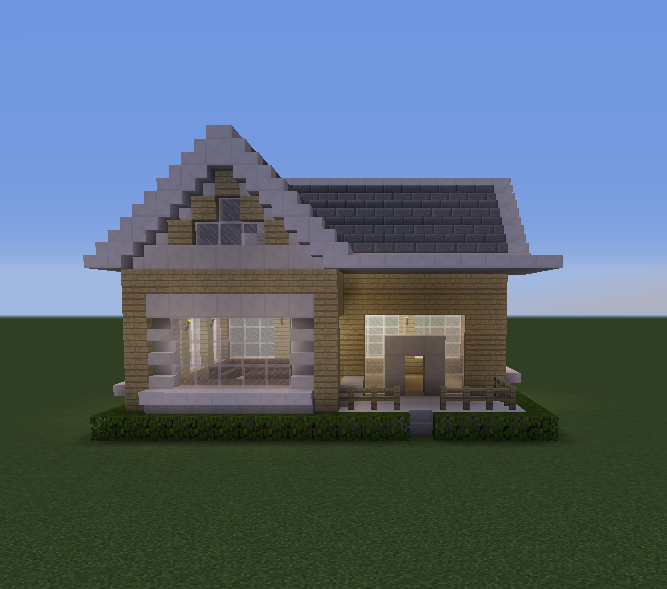 Suburban House 1 Blueprints For Minecraft Houses Castles Towers And More Grabcraft