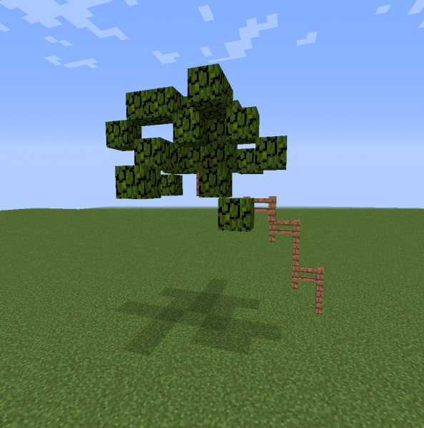 Thin Palm Tree 1