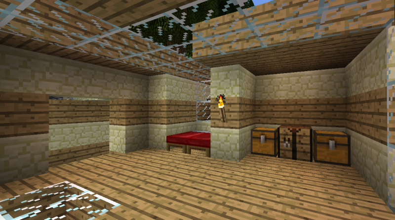 Underground House Blueprints For Minecraft Houses Castles Towers And More Grabcraft