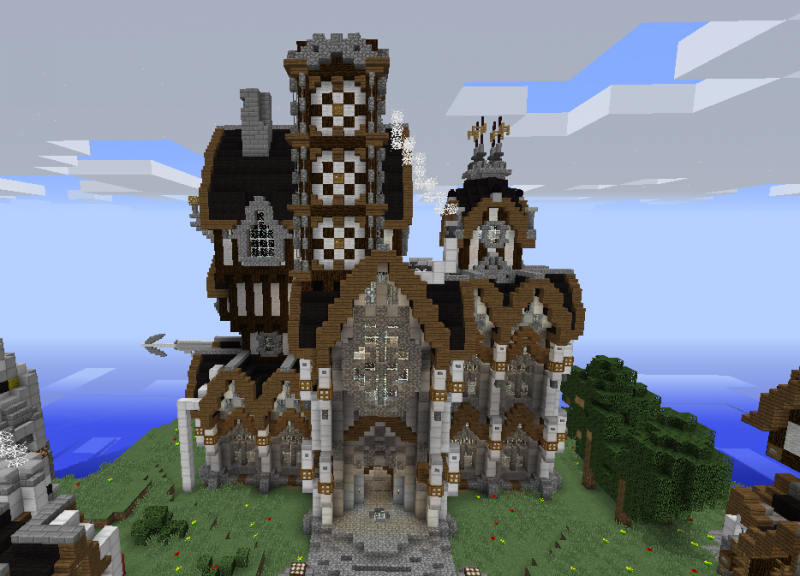 Victorian Castle Blueprints For Minecraft Houses Castles