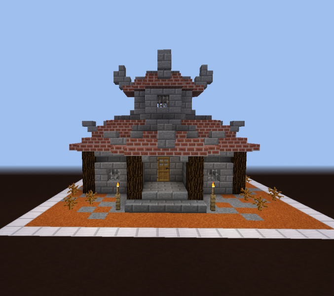 World Of Warcraft Orc House Blueprints For Minecraft Houses