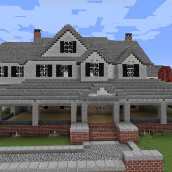 Big Countryside House Blueprints For Minecraft Houses Castles Towers And More Grabcraft