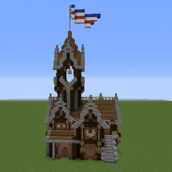 Gothic Manor Blueprints For Minecraft Houses Castles Towers And More Grabcraft