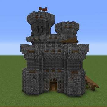 Medieval Keep Castle Grabcraft Your Number One Source For