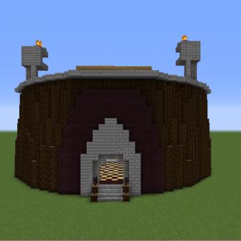 Minecraft MMO Stadium