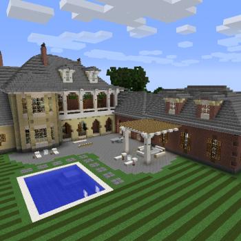 Plantation Mansion Blueprints For Minecraft Houses Castles