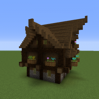 Rustic Medieval House Blueprints For Minecraft Houses Castles Towers And More Grabcraft