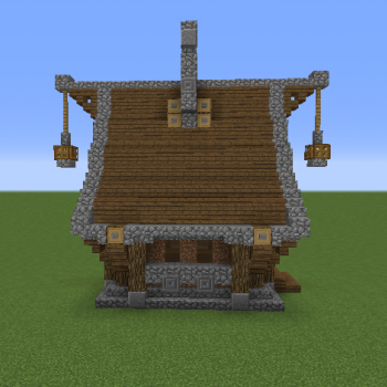 Simple Medieval House Blueprints For Minecraft Houses Castles Towers And More Grabcraft