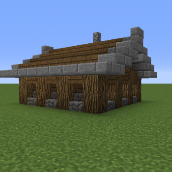 Small Enchanting Hut Blueprints For Minecraft Houses Castles Towers And More Grabcraft