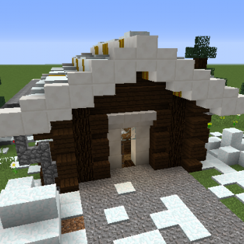 Small Log Cabin Blueprints For Minecraft Houses Castles Towers And More Grabcraft
