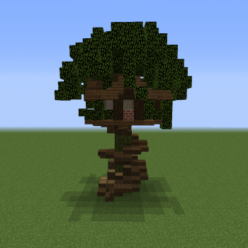 Minecraft Tree House