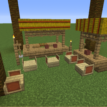 Tiki Bar Blueprints For Minecraft Houses Castles Towers And More Grabcraft