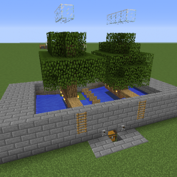 Tree Sapling Farm Blueprints For Minecraft Houses Castles Towers And More Grabcraft