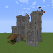 Castles Blueprints For Minecraft Houses Castles Towers And
