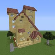 Asymmetric Large House 1