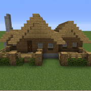 Search Wooden Cabin Blueprints For Minecraft Houses Castles