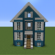 Blue Downtown House