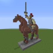 Cavalry Commander Statue