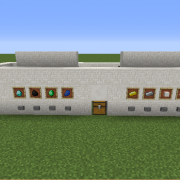 Item Storage with Hoppers