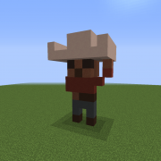 Cowboy Steve Statue