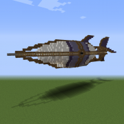 Dark Kingdom Airship
