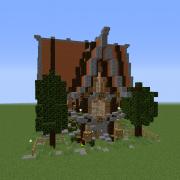 Detailed Medieval Fantasy Big House