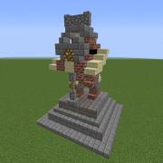 Dwarven Warrior Statue 1