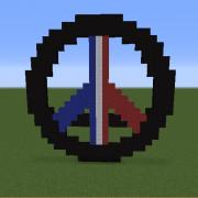 Eiffel Tower Peace Symbol