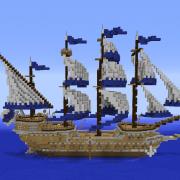 Fantasy Sailing Warship