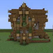Fantasy Wooden House 1
