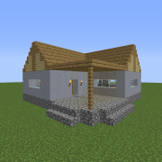 Feudal Japanese Lower Class House 2