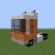 Flat Nose Semi-Trailer Truck 3