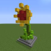 Flower Statue