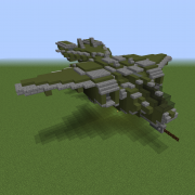 Futuristic Gunship