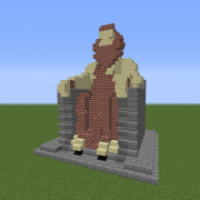 Glorious Statue of Wise King