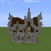 Gothic Medieval House 1