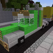 Green Container Truck