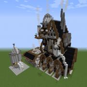 Industrial Steampunk Foundry