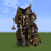 Industrial Steampunk House 1