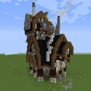 Industrial Steampunk House 2