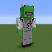 KermitPlaysMinecraft Statue