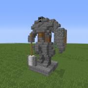 Knight Mini Statue 1