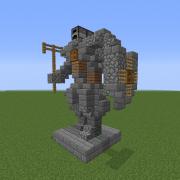 Knight Mini Statue 3