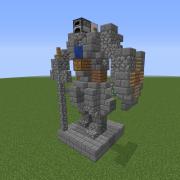 Knight Mini Statue 5
