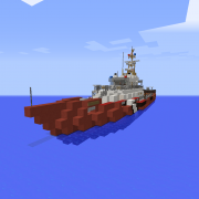 Large Fire Department Boat