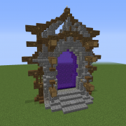 Large Nether Portal Design